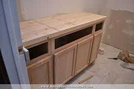 How To Install Butcher Block Countertops Diy Butcherblock Style Countertop With Undermount Sink