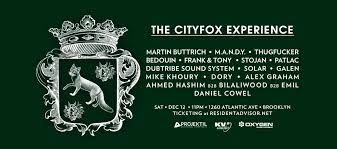 city fox halloween 2015 ra the cityfox experience martin buttrich m a n d y thug er