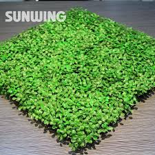 Fake Bushes Artificial Boxwood Hedges Panels 48pcs 25x25cm Outdoor Privacy