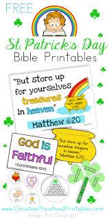 st patrick u0027s day bible crafts