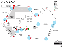 Mall Of America Parking Map by Associated Students Of San Francisco State University Building Maps