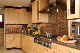 Contemporary Kitchen Cabinet Design Black Furniture Under Cabinet - Light cherry kitchen cabinets