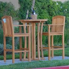 Patio Bar Chairs by Teak Patio Bar Chair Stool