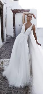 v neck wedding dresses 32 plunging v neck wedding dresses deer pearl flowers