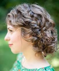 25 special occasion hairstyles curly updo hairstyles medium