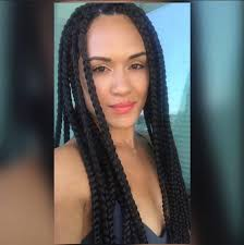 what kind hair use boxbraids the 411 on box braids why they re great and how to wear them bun