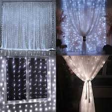 Curtain Fairy Lights by 9 8ft 9 8ft Extendable Led Curtain Lights Torchstar