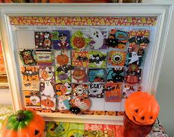 Printable Halloween Countdown Calendar The Vintage Umbrella Author At Fun Family Crafts