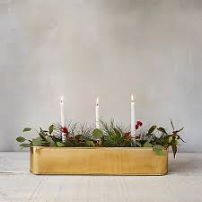 candle centerpiece brass candle centerpiece trough terrain