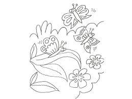 imagenes de mariposas faciles para dibujar de una mariposa en la selva para colorear