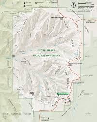Cedar City Utah Map by Cedar Breaks Maps Npmaps Com Just Free Maps Period