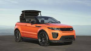 jeep range rover 2016 revealed 2016 range rover evoque convertible is world u0027s first