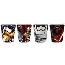 wars episode vii the force awakens 4 pc toothpick holder set