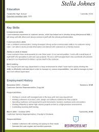 Good Resume Example For High by High Resume Examples For College Admission Resume Youth