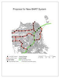 Bart Expansion Map by Caroline Jaffe