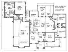 house plan 2365 square feet french country home style design