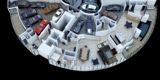 porsche design tower penthouse comes with a 11 car garage on the