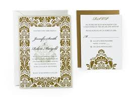 damask wedding invitations damask free wedding invitation template