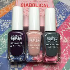 the polish list diabolical nail polish set from firebox