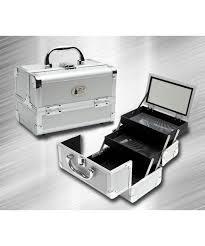 Makeup Box silver makeup compact silver makeup box zen cases