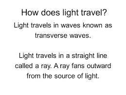 how does light travel images Chapter 14 sound and light energy ppt video online download jpg