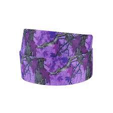 camo ribbon 50yards lot flora ribbons wholesale free shipping purple camo ribbon