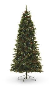 oregon pine 7 5 u2032 pre lit artificial christmas tree multi color