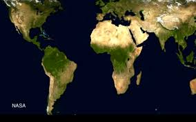 World Deserts Map by Desertification Musings On Maps