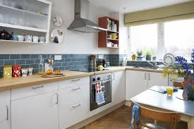 vintage kitchen backsplash best l shape kitchen design blue subway tile kitchen