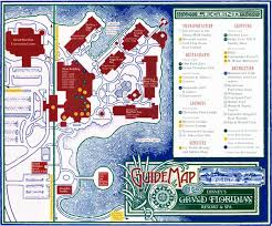 Walt Disney World Resorts Map by Grandfloridianmap Jpg