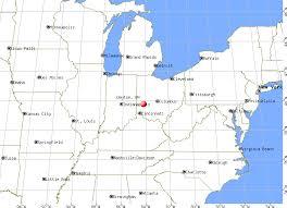 dayton map dayton ohio oh profile population maps estate averages