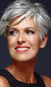 stylish cuts for gray hair 50 short and stylish hairstyles for women over 50