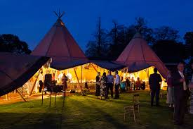 rent a wedding tent tipi hire wales event in a tent