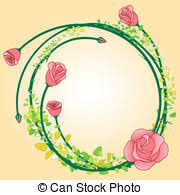 vector of rose flower with butterfly card rose flower with