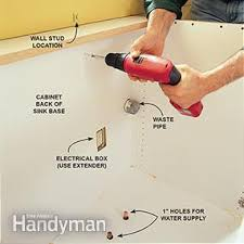 How To Take Cabinets Off The Wall Frameless Kitchen Cabinets Family Handyman