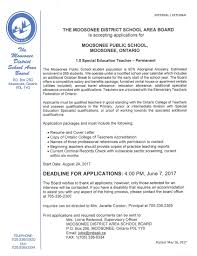job posting u2013 17 18 special education teacher u2013 closed june 7 2017