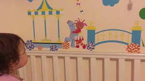 daisy loves her new in the night garden wall stickers youtube