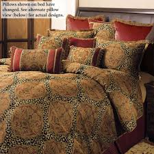 Cheetah Bedding Safari African Bedding Touch Of Class