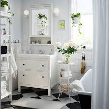 Meuble Salle De Bain Noir Et Blanc by Petites Salles De Bains Ikea Marie Claire