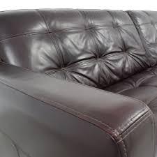 59 off macy u0027s macy u0027s milan leather sofa sofas