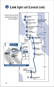 seatac light rail station seattle cruise port guide cruiseportwiki com