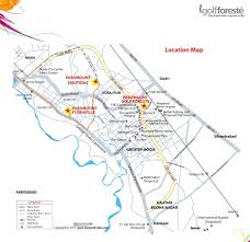 Greater Noida Metro Map by Paramount Golf Foreste Villas Resale Price Review At Greater Noida