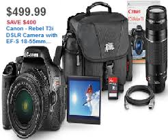 dslr deals black friday canon rebel t3i dslr camera with ef s 18 55mm f 3 5 5 6 is and