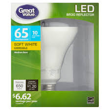Medium Base Led Light Bulbs by Great Value Led Light Bulbs 8 5w 60w Equivalent Soft White 4