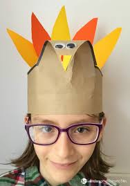 turkey hat simple and turkey hat craft for thanksgiving