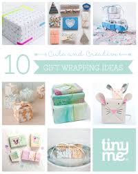 10 cute and creative gift wrapping ideas tinyme blog