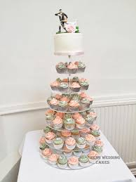 cupcake wedding cake rugby theme wedding cake by penn wedding cakes
