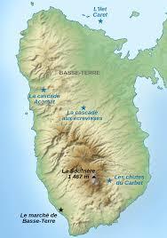 Western Caribbean Map by Basse Terre Island Wikipedia