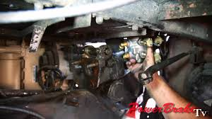 installing air hydraulic brake system valve conversion from