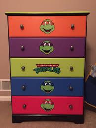 teenage mutant ninja turtles home decor diy furniture tmnt dresser idea my son loves it teenage mutant
